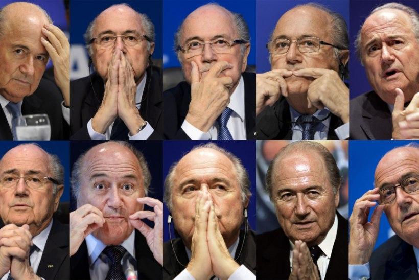 Sepp Blatter järgmisest FIFA presidendist: ükskõik kes, aga mitte Michel Platini!