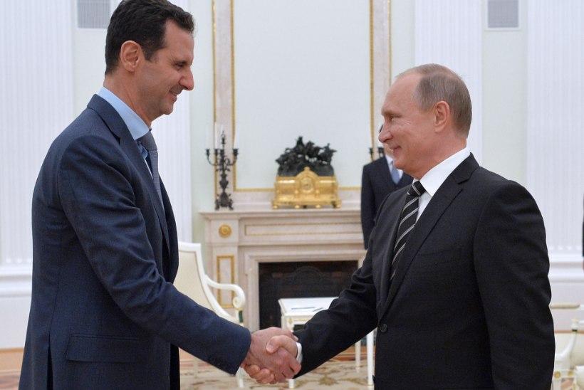USA LUUREJUHT: ka Venemaa ütleb al-Assadist lahti