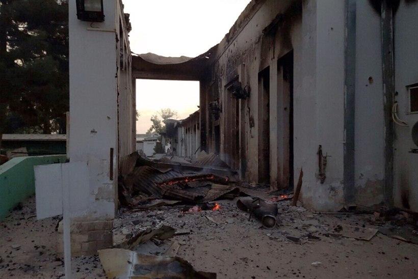 FOTOD | USA õhuväe rünnak tabas Afganistani haiglat, mitu meditsiinitöötajat sai surma