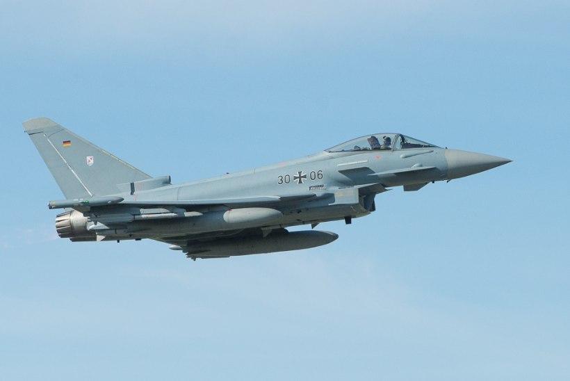 NATO hävitajad teevad täna Eesti kohal madallende