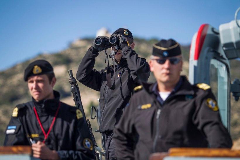 Miinijahtija Admiral Cowan alustas NATO suurõppust