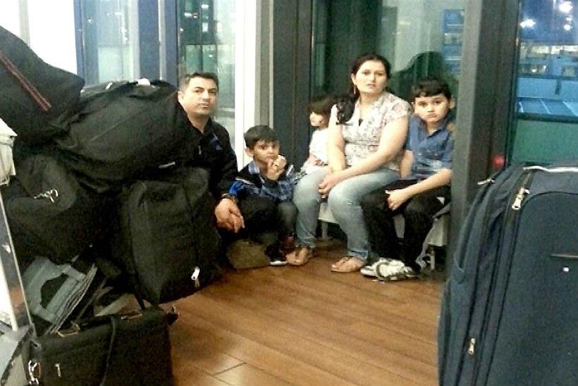 Kurdi pere elab kaks kuud Šeremetjevo lennujaamas