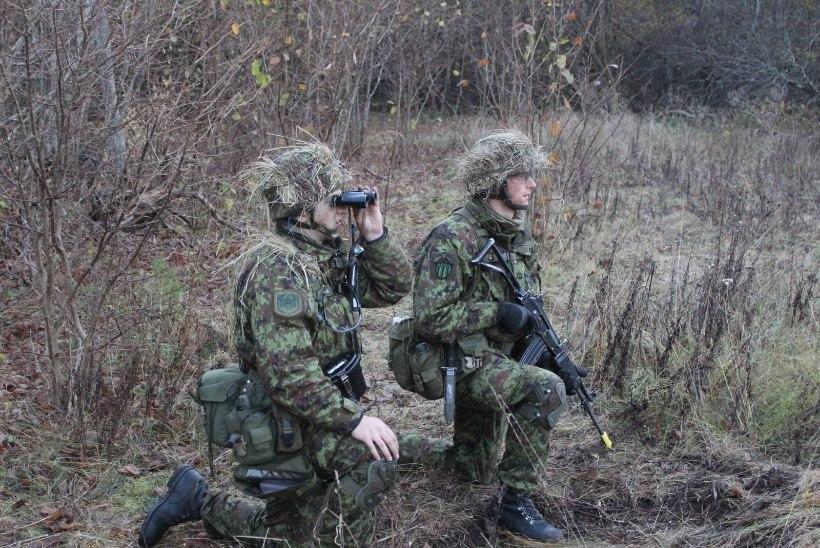 Nooremallohvitserid  õppisid hübriidsõda
