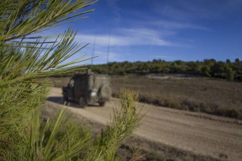 GALERII | Balti pataljon harjutas Hispaanias kaitselahingut tankide ja soomukite vastu