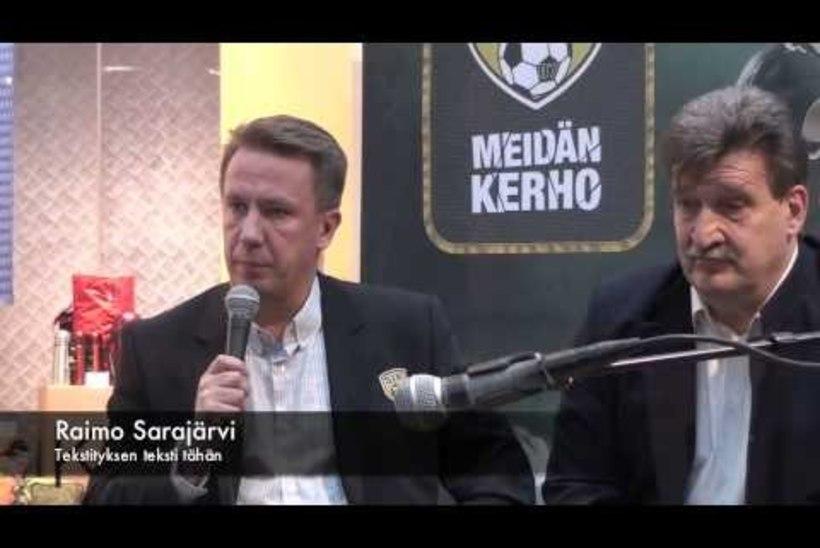 Aksalu klubi president SJK arengust, rahast ja uuest staadionist