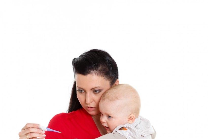 Kuidas palavikus lapse eest hoolitseda?
