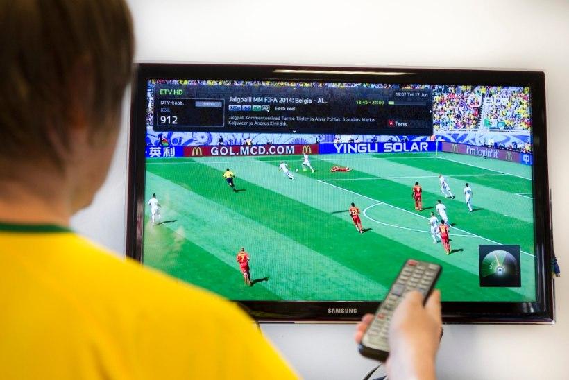 Reede õhtul jalgpall ETV-s ja võrkpall ETV2-s. Rivo Saarna selgitab, miks niipidi?