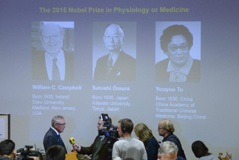 Nobeli meditsiinipreemia läks parasiithaiguste ravi uurinud teadlastele