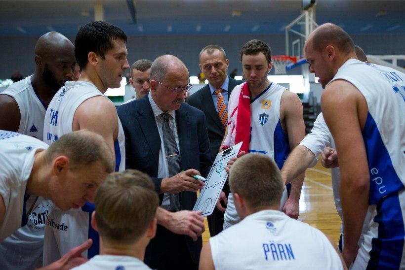 TLÜ/Kalev alistas karikavõistlustel Tiit Soku tiimi ning edenes veerandfinaali