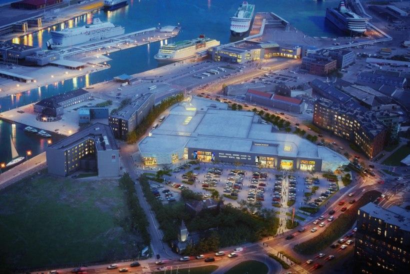 FOTOD   Norde Centrum kasvab kaks korda suuremaks