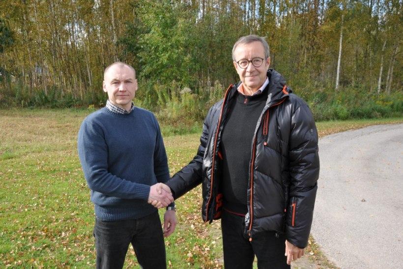 FOTOUUDIS   President Ilves kohtus Eston Kohveriga