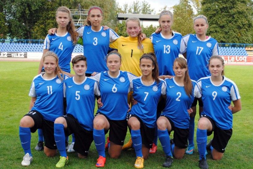 JÄRELVAADATAV   Eesti U17 vutineiud teenisid Horvaatia käest tubli viigipunkti