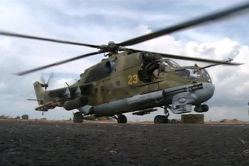 Süürias tulistati alla helikopter. Pole teada, kas see kuulus Venemaale või Süüriale