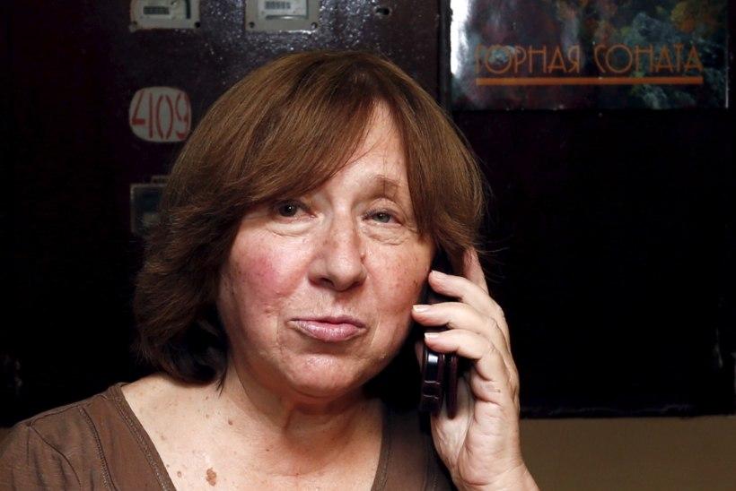 Nobeli kirjanduspreemia pälvis valgevenelanna Svetlana Aleksijevitš