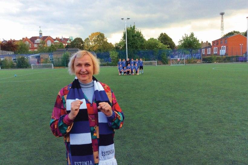 Jalgpallikoondis tegi Luule Komissarovi õnnelikuks – esimest korda sai nähtud nii välismäng kui ka London!