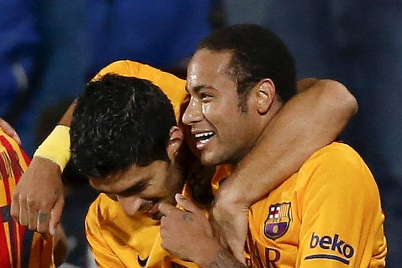 VIDEO | Barcelona jätkab Neymari ja Suareze kukil elamist