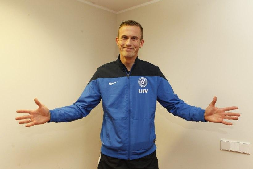 Mihkel Aksalu tegi pärast Soome meistritiitlit trenni FC Floraga: minu vorm ei tohiks olla probleem