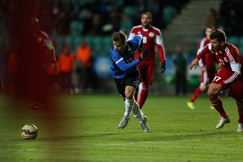 NII SEE JUHTUS | VÄRAVATESADU! Eesti jalgpallikoondis võitis Gruusia 3:0