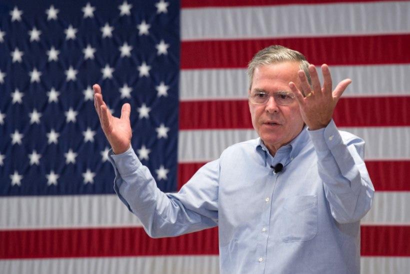 Jeb Bush: oleksin väikese Hitleri tapnud