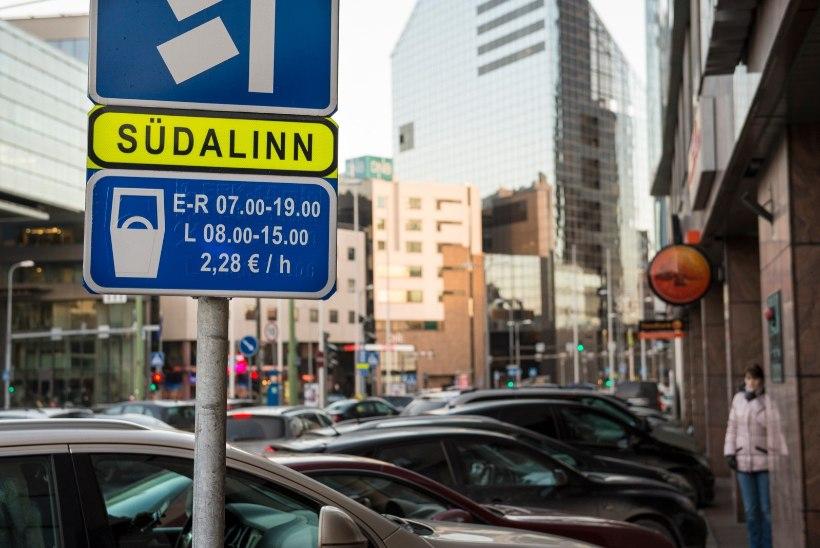AHNE PEALINN: Tallinn tõstab parkimistasud rikaste Põhjamaade tasemele
