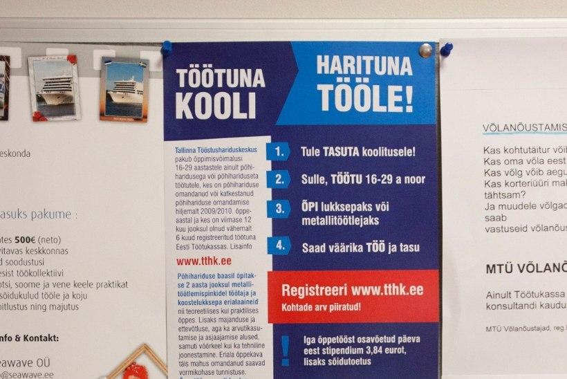 Eesti tööhõive on viimase 15 aasta kõrgeim