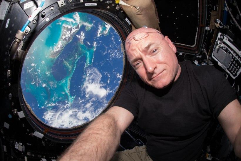 Rahvusvaheline kosmosejaam kubiseb bakteritest