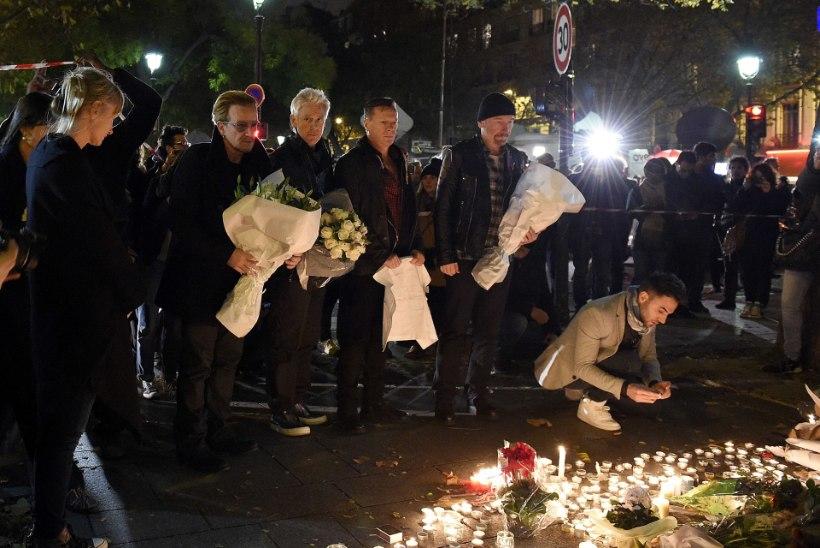 U2 jättis Pariisi kontserdi ära
