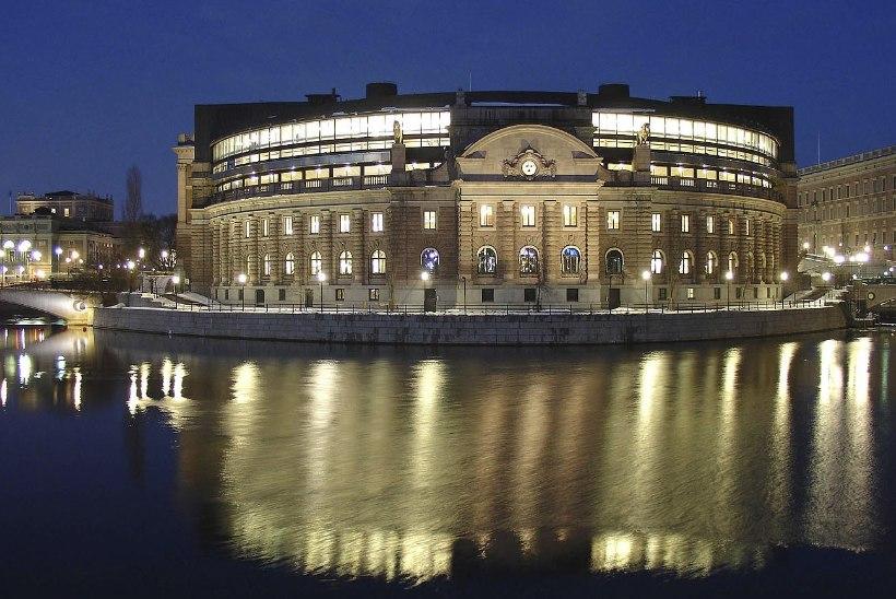 Ähvardus Rootsi parlamendile