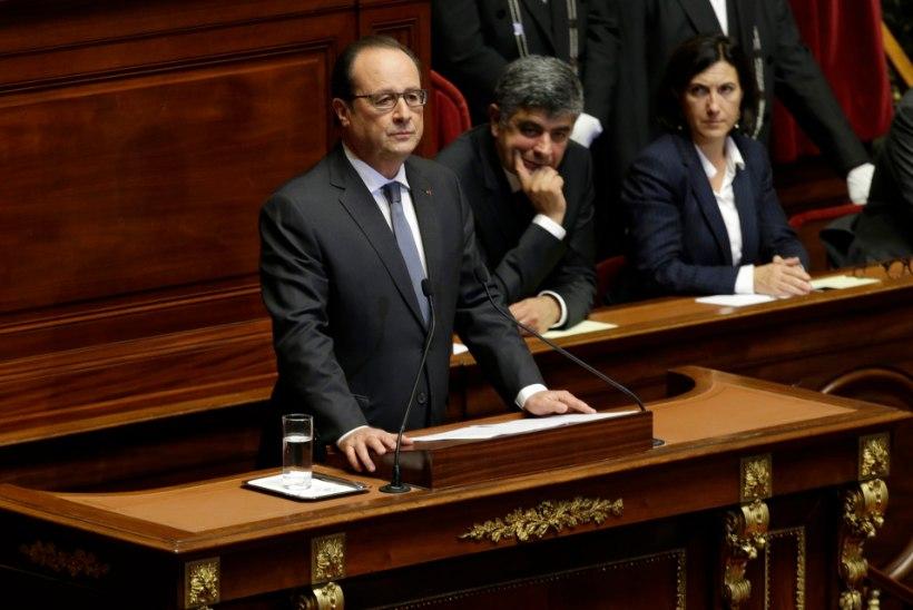 President Hollande: Prantsusmaa on sõjas