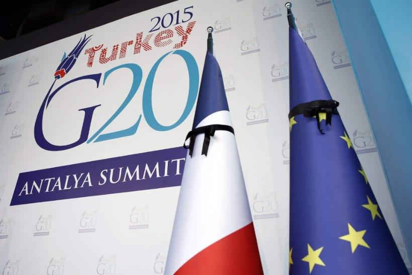 G20 keerab ISISe rahakraanid kinni