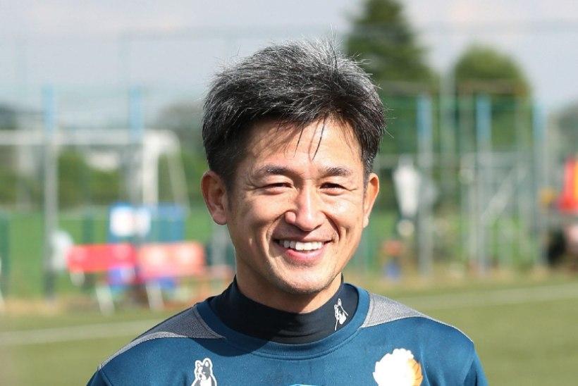 USKUMATU MEES! 48-aastane Jaapani jalgpallilegend sõlmis uue profilepingu