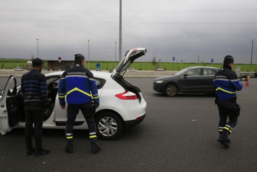Prantsuse politsei tegutseb eriolukorrale tuginedes karmil käel
