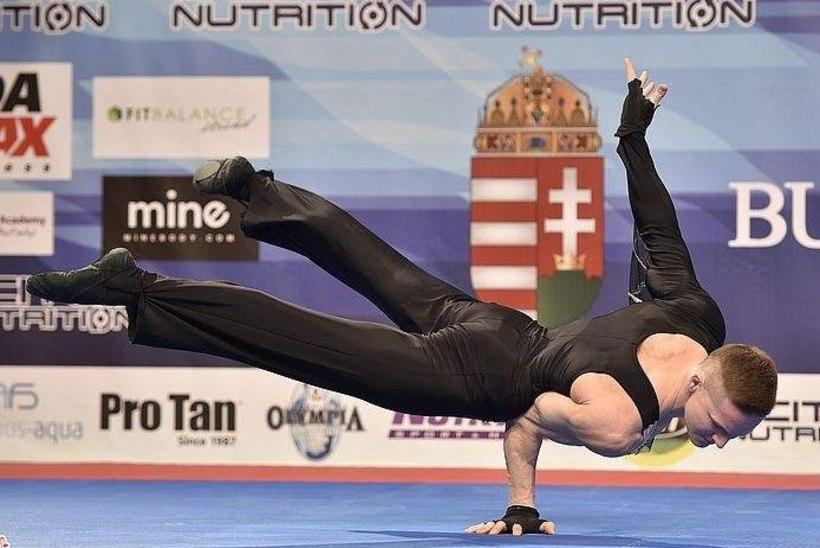 Oleg Anissimov tuli fitnessi maailmameistriks