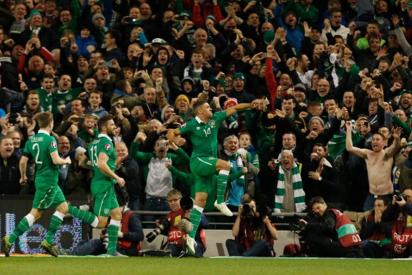 NII SEE JUHTUS | Iirimaa pääses jalgpalli EMile