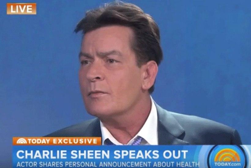 VIDEO   Charlie Sheen kinnitas otse-eetris, et on HIV-positiivne