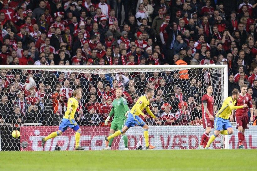 GALERII   Taani oli parem, aga Rootsil on Zlatan