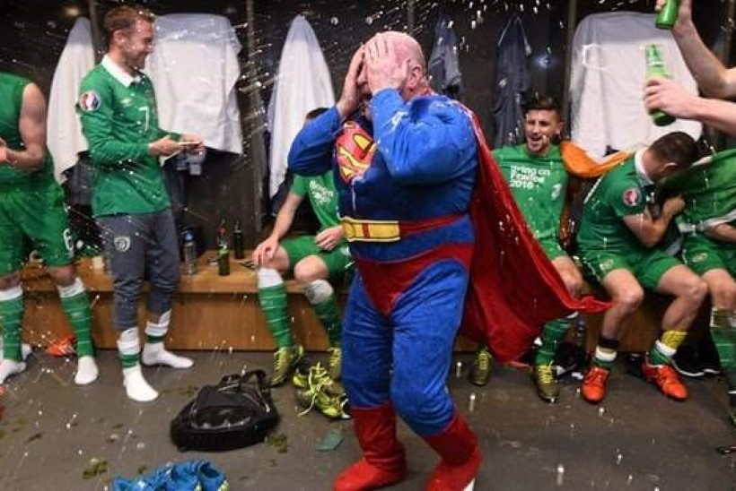 Iirimaa EMile jõudmine manas välja Supermani!
