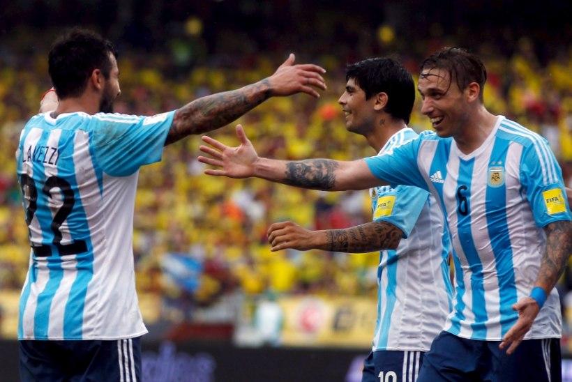 VIDEO   Argentina jalgpallikoondis teenis MM-kvalifikatsiooniturniiril esimese võidu