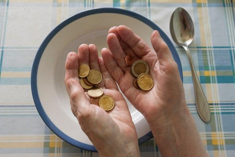 Pea pooled Eesti inimestest ei saa endale lubada ettenägematuid kulutusi