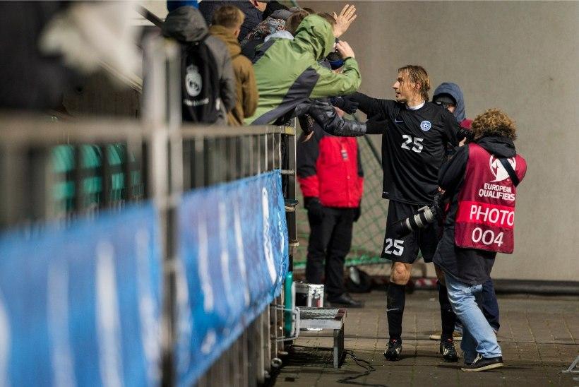 FOTOREPORTAAŽ | Sergei Pareiko viimased kaks tundi jalgpallurina