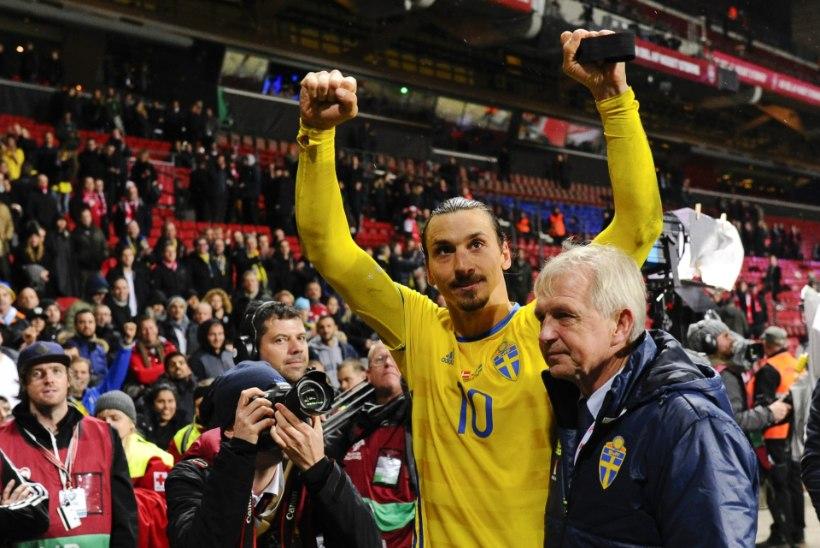 VIDEO | Kuidas käitus Zlatan, kui temaga selfie'it teha tahtnud politseinik oli selle jaoks liiga lühike?