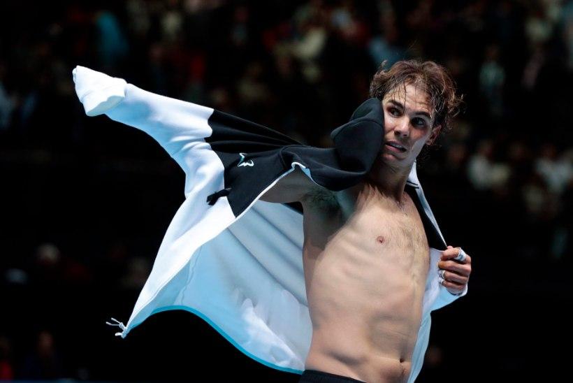 Rafael Nadal lõpetas alagrupiturniiri kaotuseta