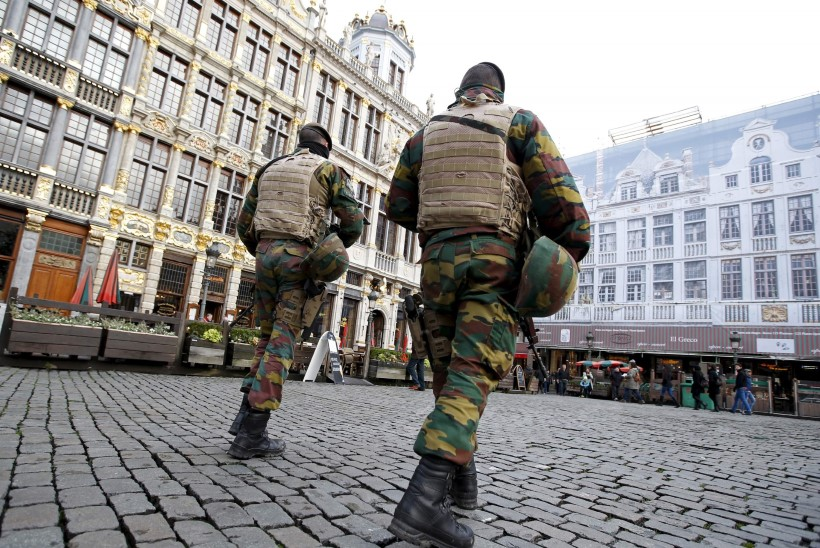 TERRORIOHT: Brüsselis jäid tänavad nädalalõpul inimtühjaks