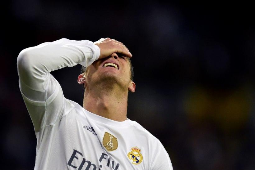 El Clasico'l välja vilistatud Ronaldo ei lähe agendi sõnul Realist kuhugi