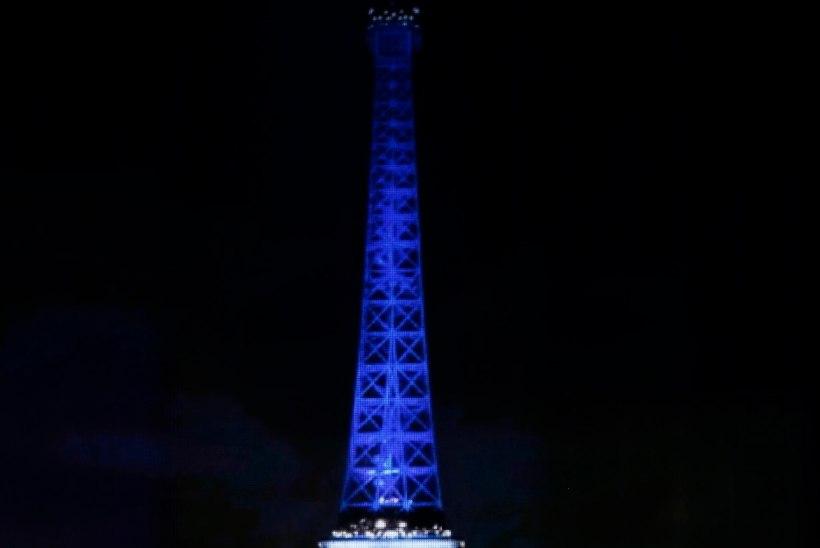 VIDEO | Celine Dioni laul Pariisi terroriohvrite mälestuseks pani suure saalitäie rahvast nutma