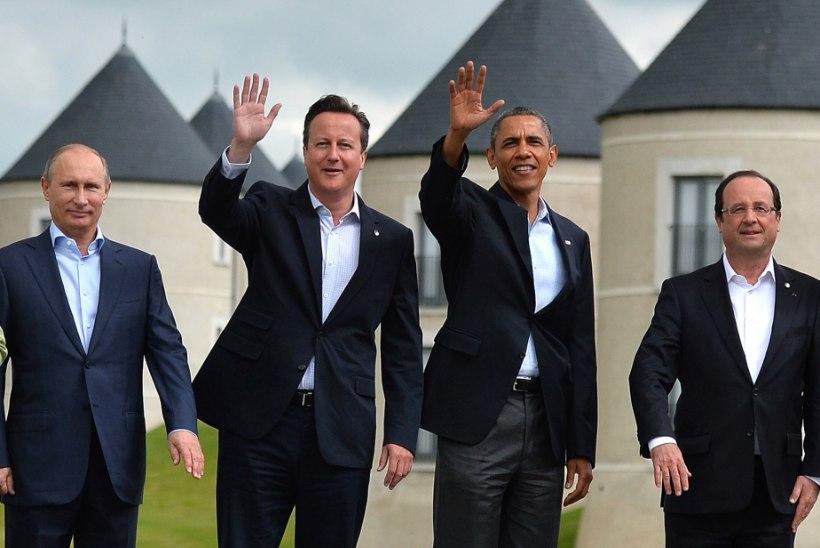 Obama, Hollande, Cameron ja Putin panevad seljad kokku?