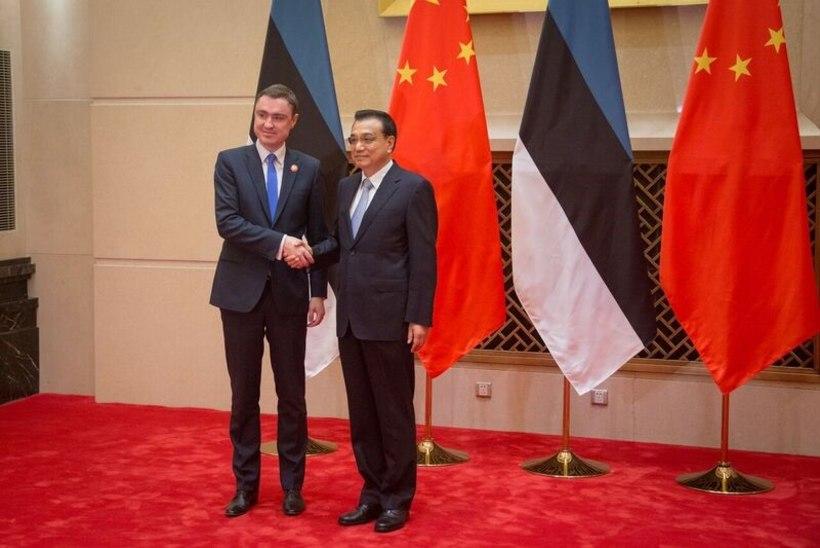 FOTOD | Peaminister Rõivas arutas Hiina kolleegiga majanduskoostööd