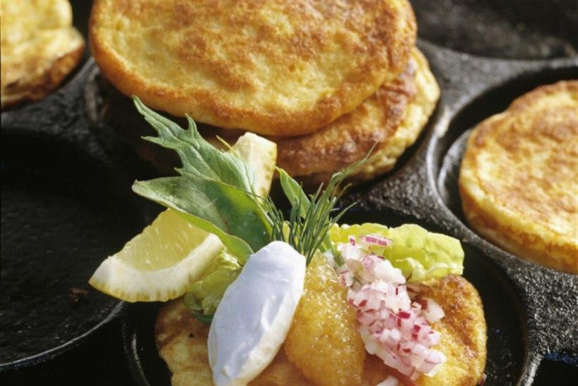 Västerbottensost juustuga pannkoogid