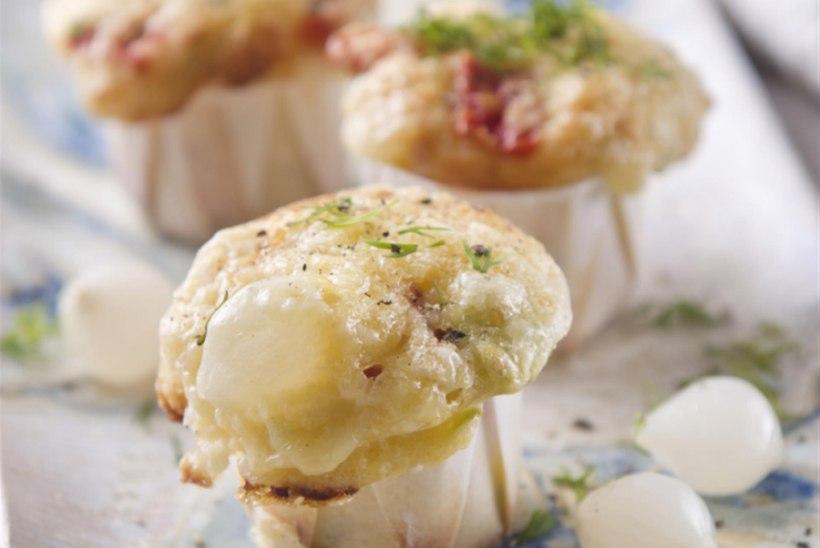 Västerbottensost juustuga muffinid