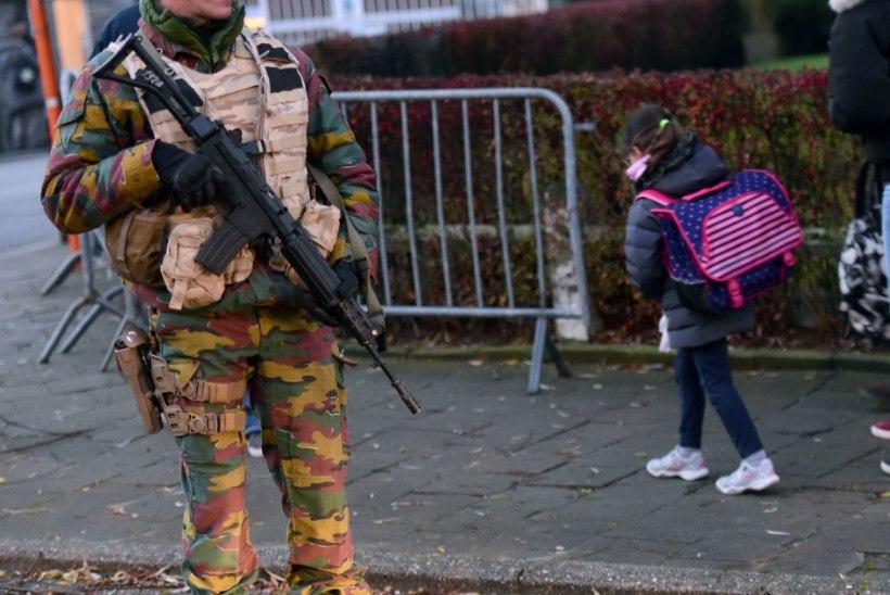 Brüsselis avati koolid ja metroojaamad